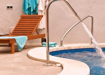 Allotjament rural Cal Vilanova - piscina