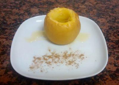 La cuina a Cal Vilanova - Poma al forn