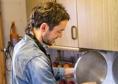 La cuina a Cal Vilanova - Xavier cuinant