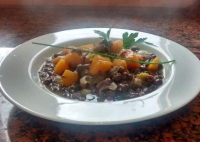 La cuina a Cal Vilanova - Estofat d'azuquis amb verdures
