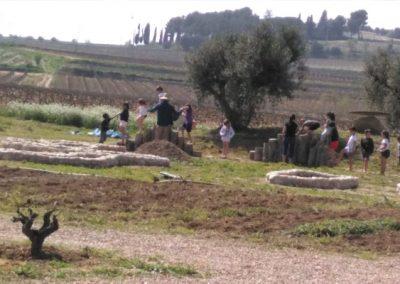 Activitats per escoles Parc de les Olors de Cal Vilanova