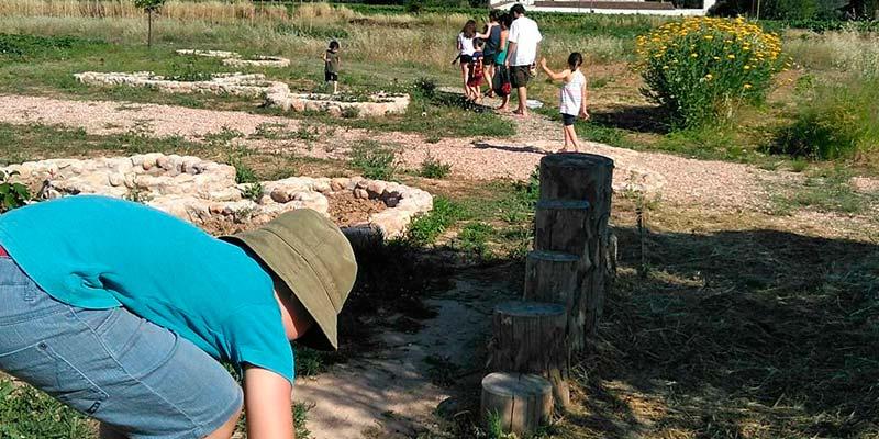Visita en familia: Colonia de hierbas (7-10-2017)