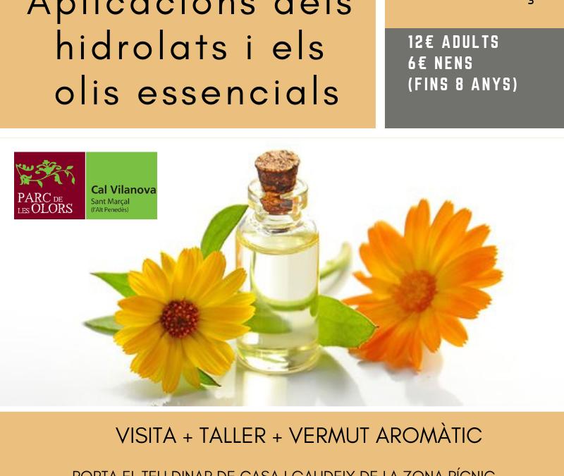 aplicaciones de los hidrolatos i los aceites esenciales 31-03-19